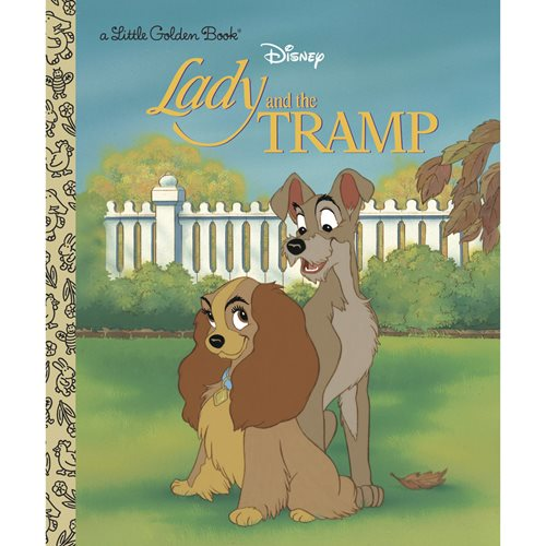 Lady and the Tramp Little Golden Book