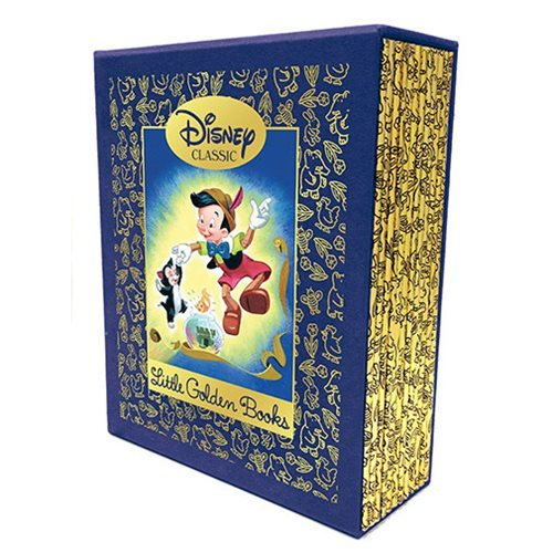 Disney Classic 12 Beloved Little Golden Books Library Boxed Set