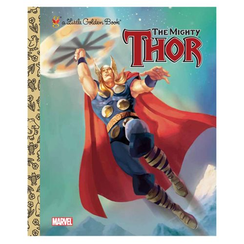 Marvel The Mighty Thor Little Golden Book