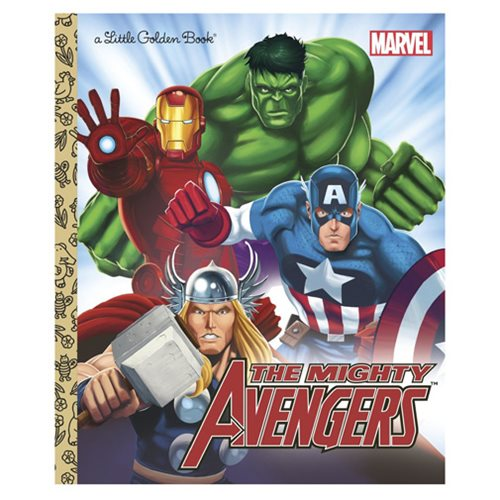 Free Comic Book Day Hulk Heroclix: Marvel The Avengers The Mighty Avengers Little Golden Book