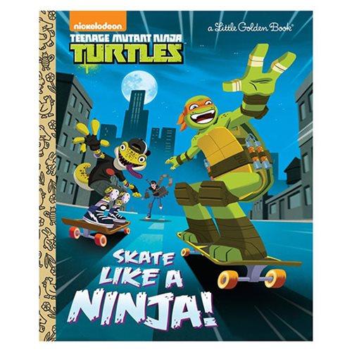 Tmnt Skate Like A Ninja Little Golden Book