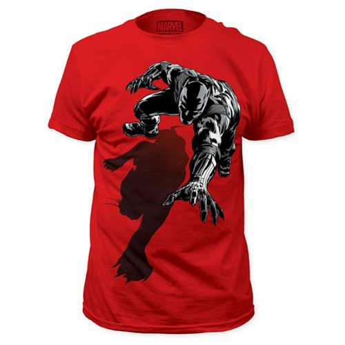 Black Panther Shadow Red T-Shirt