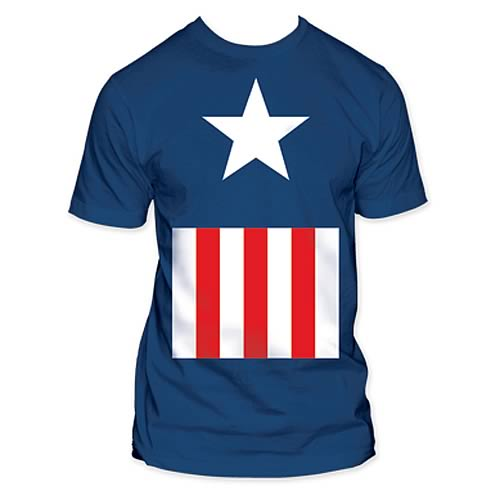 Captain America Uniform T-Shirt