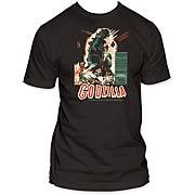 Godzilla Vintage French Poster T-Shirt
