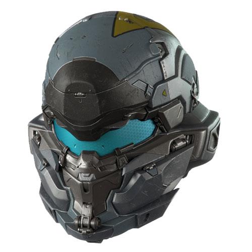 Halo 5: Guardians Spartan Jameson Locke Helmet Prop Replica
