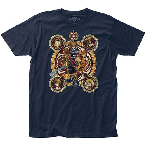 Kingdom Hearts Character Circles T-Shirt