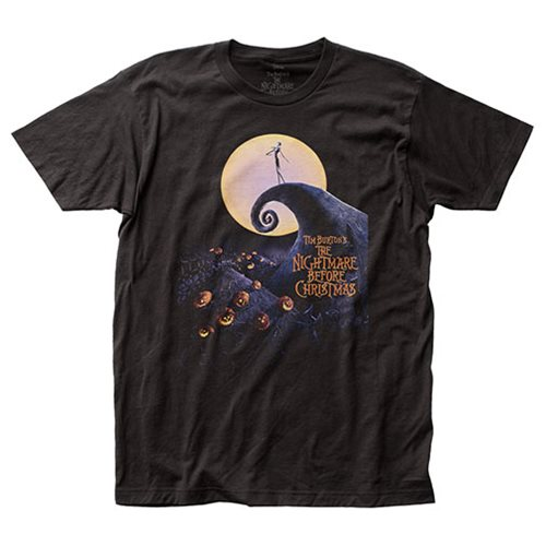 Nightmare Before Christmas Poster T-Shirt