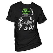 Night of the Living Dead Poster T-Shirt