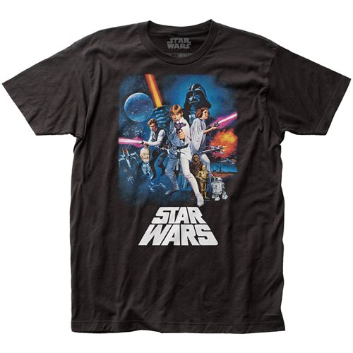 Star Wars: A New Hope Poster T-Shirt