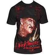 Nightmare on Elm Street Writing on the Wall T-Shirt
