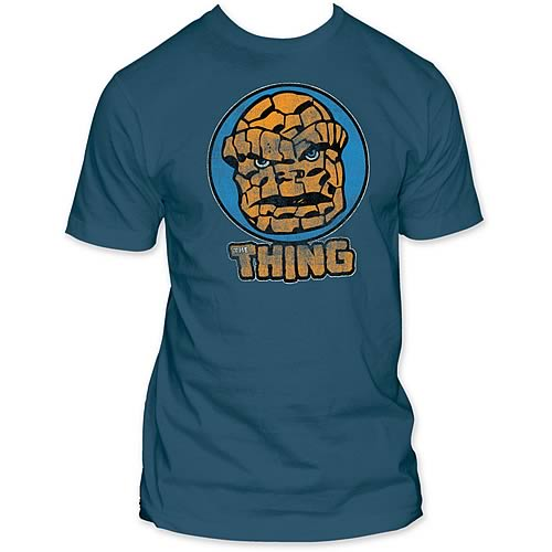 Fantastic Four The Thing Circle Portrait T-Shirt