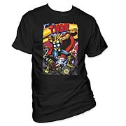 Thor Jack Kirby Cover Art T-Shirt