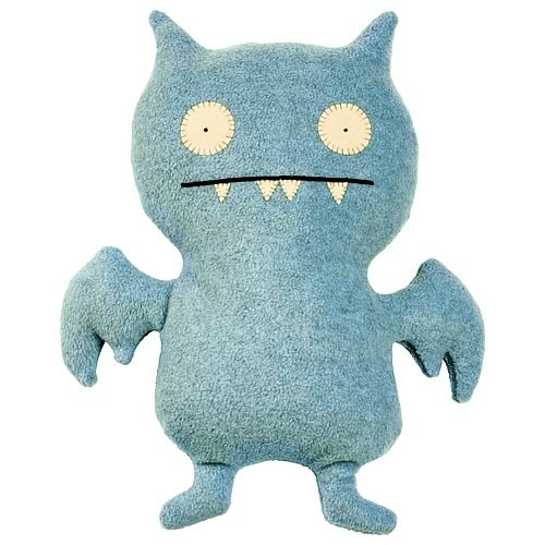 Icebat 14-Inch Uglydoll (Light Blue)