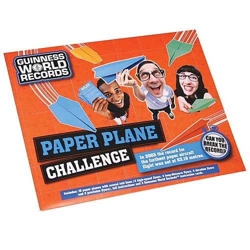 Guinness World Record Paper Plane Game Pack