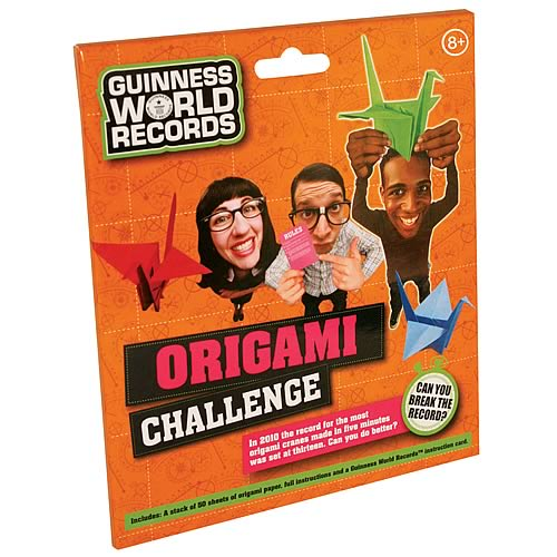 Guinness World Record Origami Challenge Game