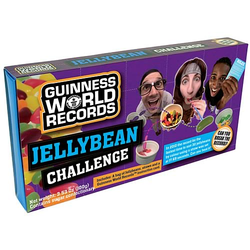 Guinness World Record Jellybean Challenge