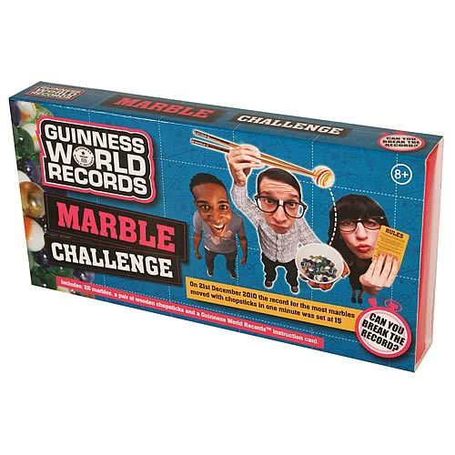 Guinness World Record Marble Challenge Game