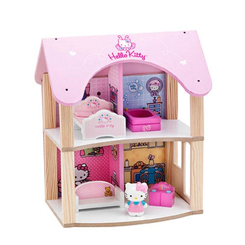 Hello Kitty Summer Dollhouse Wooden Playset