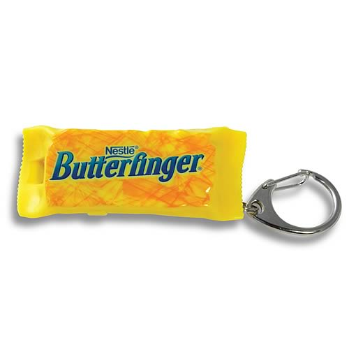 Butterfinger Key Chain Flashlight