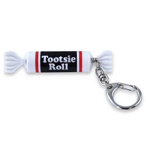 Tootsie Roll Key Chain Flashlight