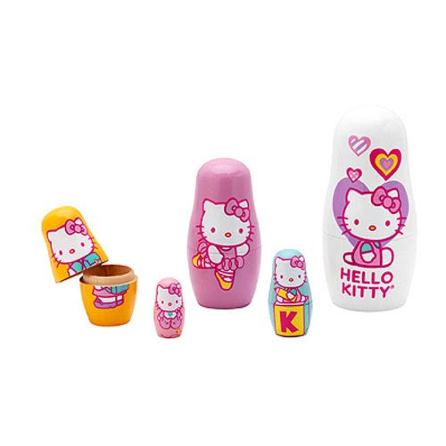 Hello Kitty Nesting Dolls Set