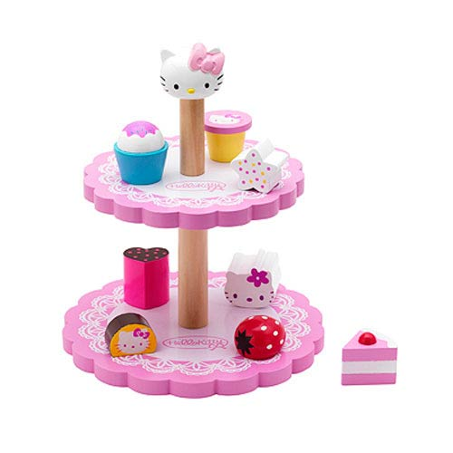 Hello Kitty Cake Tiered Serving Tray Playset