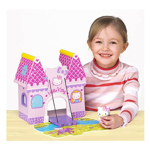 Hello Kitty Enchanted Castle Wooden Playset