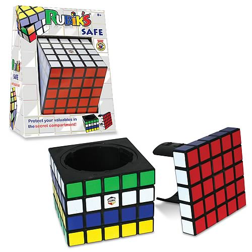 Rubik's Cube Puzzle Safe, Not Mint