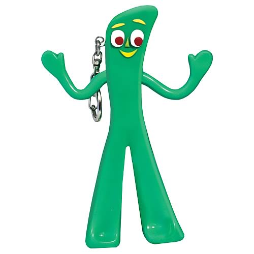 Gumby Key Chain Flashlight