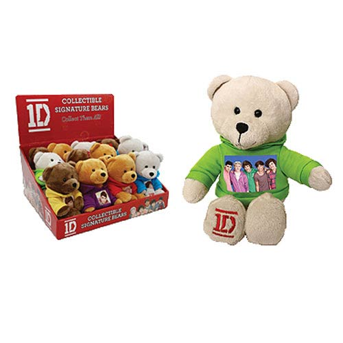 1D Collectible 9-Inch Plush Bear Display Box