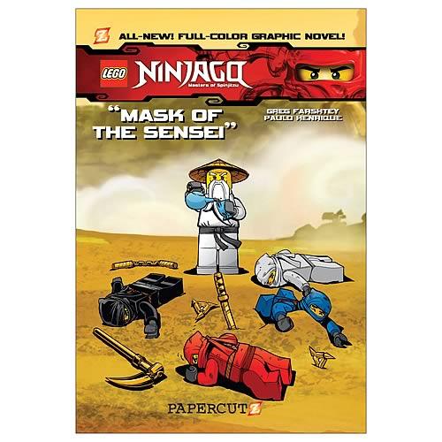 LEGO Ninjago Mask of the Sensei Graphic Novel