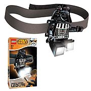 LEGO Star Wars Darth Vader Head Lamp Flashlight