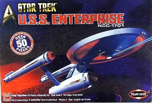 Star Trek U.S.S. Enterprise NCC-1701 Model Kit