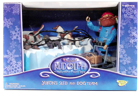 Rudolph Yukon Dog & Sled