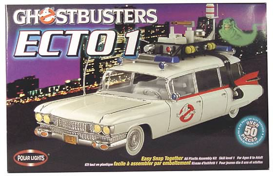 Ghostbusters Ecto 1 Model Kit
