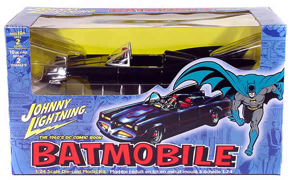 1960`s Batmobile Die Cast Model Kit