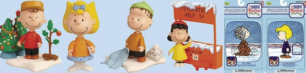 Charlie Brown Christmas Action Figure Case
