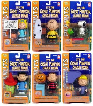Great Pumpkin Figure Asst.