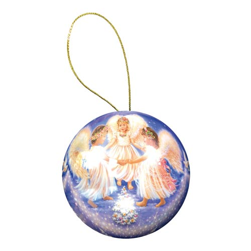 Holiday Ornament Angels Puzzle