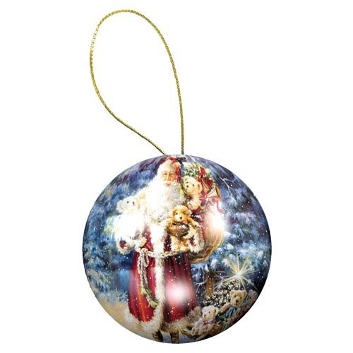 Holiday Ornament Santa Puzzle