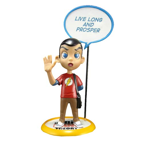 Big Bang Theory Sheldon Q-Pop Vinyl Figure