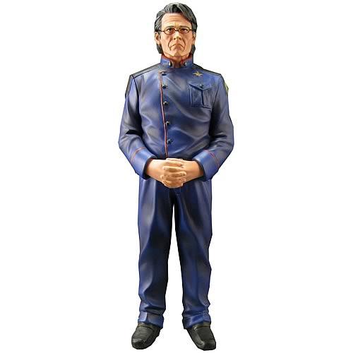 Battlestar Galactica Admiral Adama Animated Maquette Statue