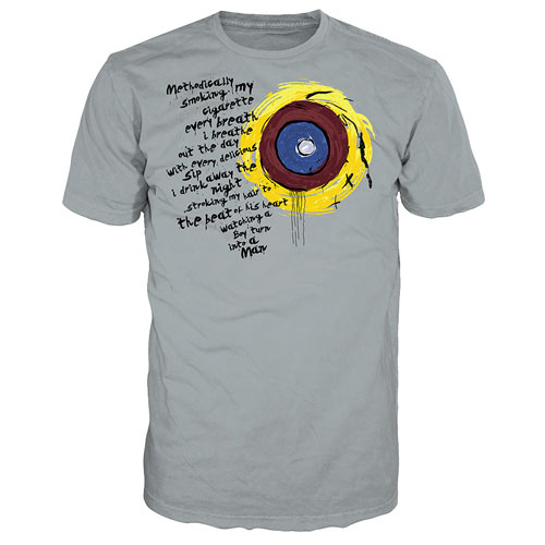 Battlestar Galactica Eye of Jupiter Gray T-Shirt