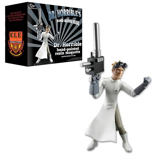 Dr. Horrible's Sing-Along Blog Animated Maquette