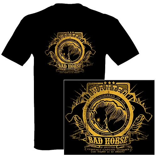 Dr. Horrible's Sing-Along Blog Wanted Bad Horse T-Shirt