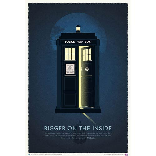 Doctor Who 50th Anniversary Fine Art Print