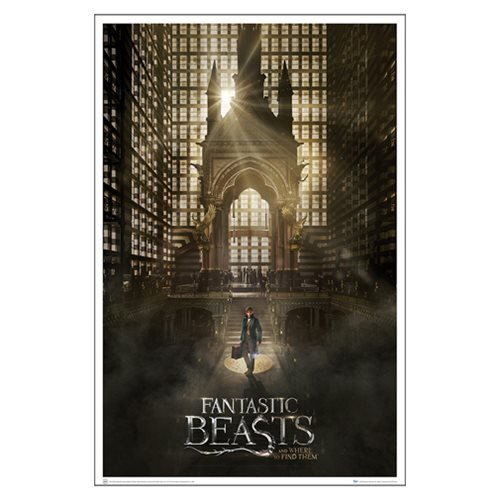 Fantastic Beasts and Where to Find Them Magical Congress Art Print