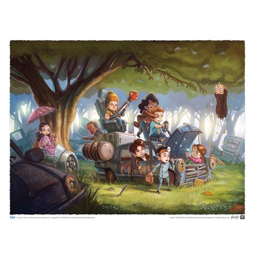 Firefly Brownie Coats Fine Art Print