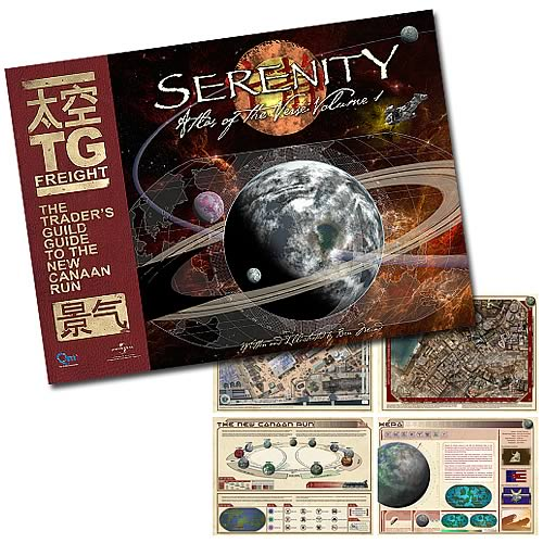 Serenity Atlas of The Verse Volume 1 Book