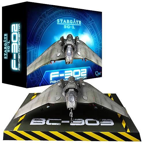 Stargate SG-1 F-302 Fighter Interceptor Replica, Stargate, Prop Replicas, Quantum Mechanix
